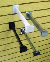 Rectangular Hangrail Bracket for Slatwall