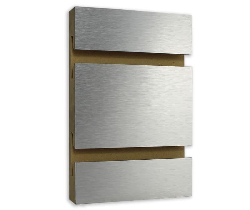 Brushed Aluminum Slatwall