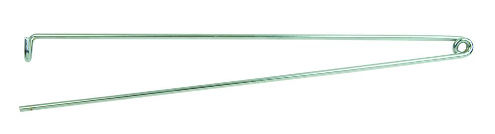 Sales Rep Metal Chrome Diaper Pin Rod