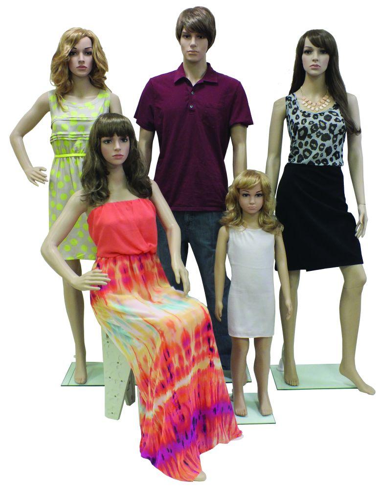 Plastic Mannequins